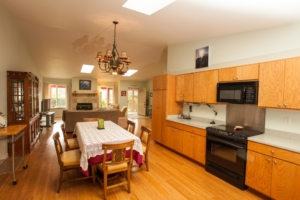 open concept living areas at Ho'oNani Care Home