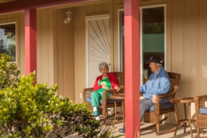 Enjoy friends and laughter on the lanai