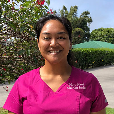 Headheadshot of Leahi Poouahi, HooNani Day Center Personal Care Attendant